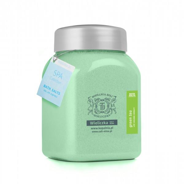 KINGA-Badesalz Blatt des grünen Tees