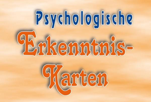 Psychologische Erkenntnis-Karten