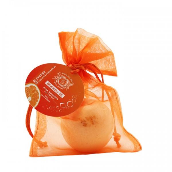 Kugel-Sprudelbad Orange