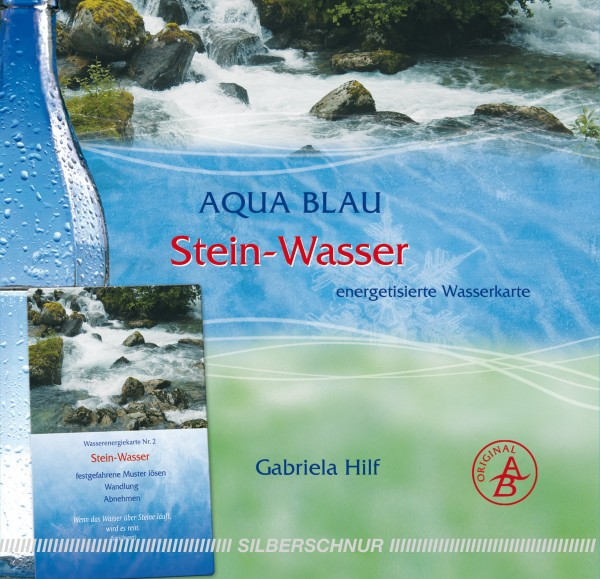 Aqua-Blau Stein-Wasser